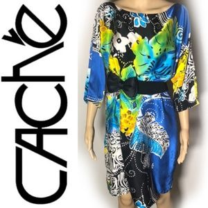 REAL SILK Cache Dress size medium